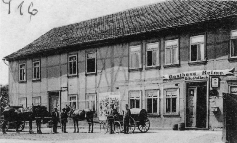 Gasthaus zur Helme, Besitzer Otto Pollack