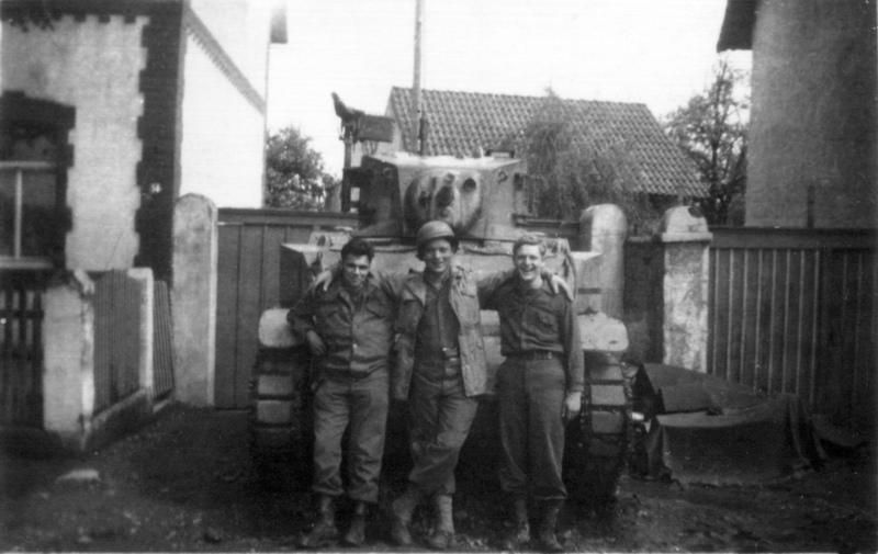 Amerikanischer Panzer in Sondershäuser Straße