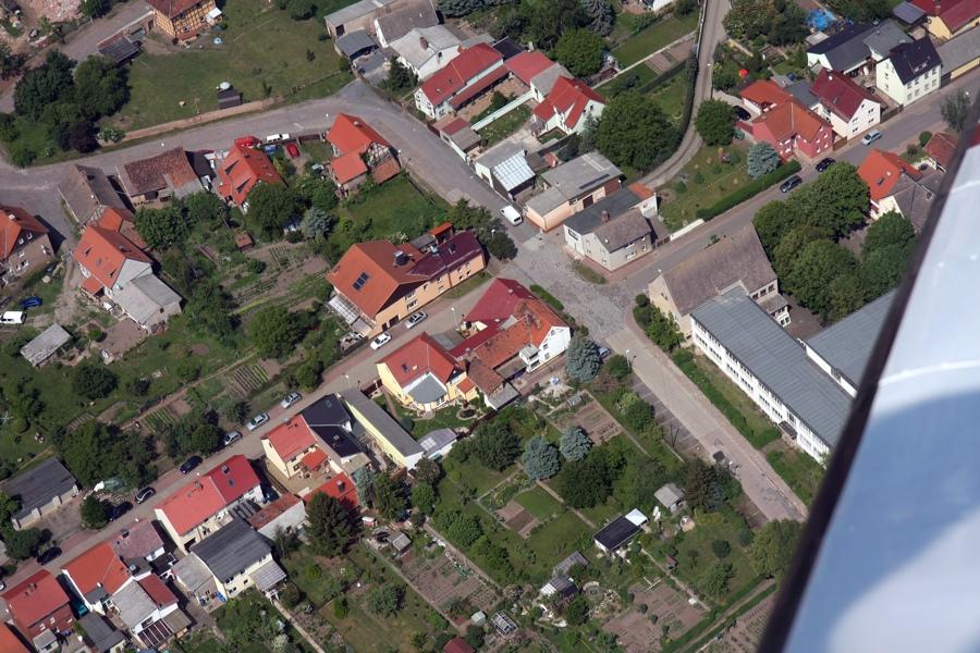 Luftaufnahme von Sundhausen