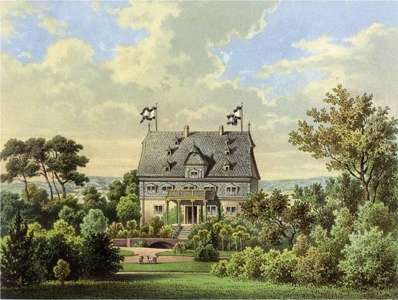 Carlsburg 19. Jahrhundert