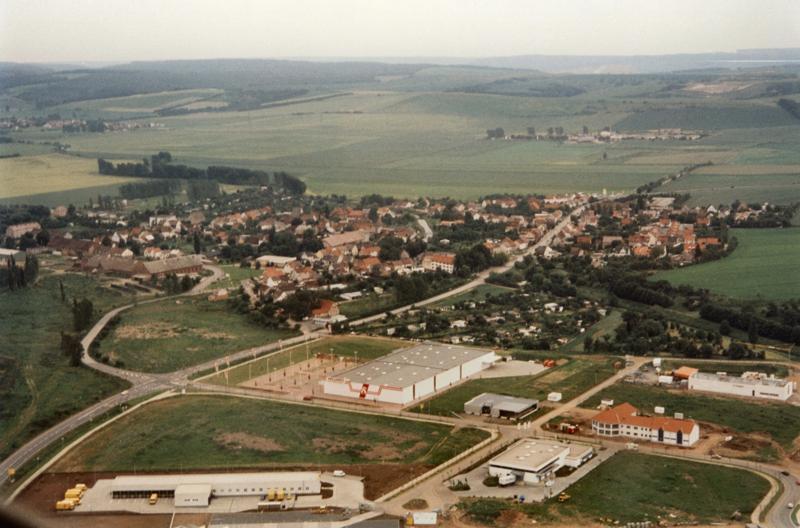 Luftbild ca. 1991-92