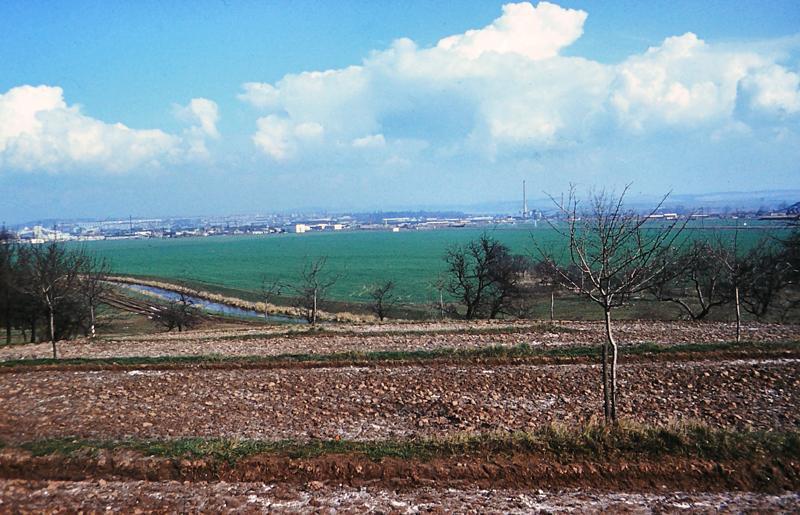 Blick vom Kesselberg Richtung Nordhausen