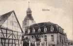 Kirche und Nachbarhaus
