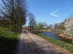 Renaturierter Flussarm
