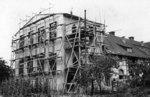 Bau des Speichergebäudes