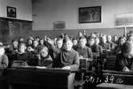 Schulklasse in der Neuen Schule