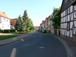 Schulstraße von Uthleber Straße aus