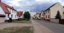 Blick in die Schulstraße